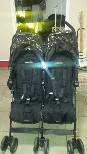 Maclaren twin techno double stroller for Sale in Gaithersburg, MD