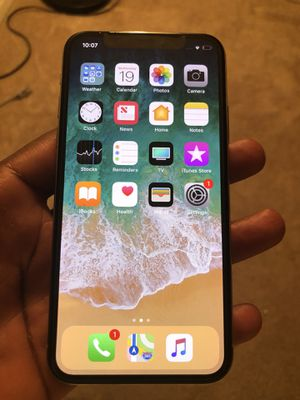 iPhone X 256GB. T-MOBILE for Sale in Randallstown, MD