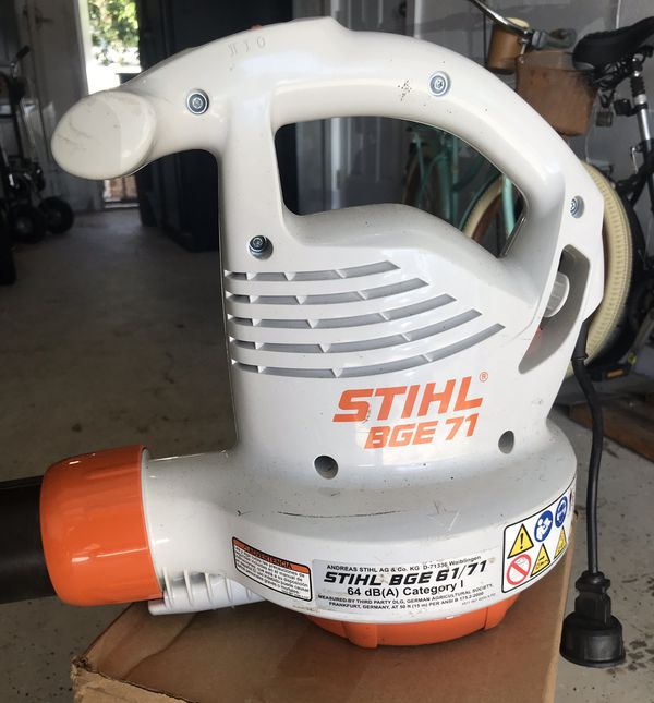 STIHL BGE 71 Leaf Blower for Sale in Largo, FL - OfferUp