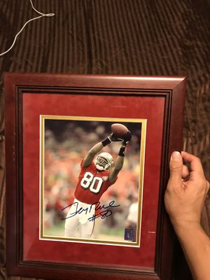 Signed and framed 49ers pics for Sale in Salinas, CA