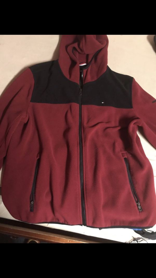 9d579f2c297bc5 Tommy Hilfiger jacket hoodie XL (Used) for Sale in San Francisco