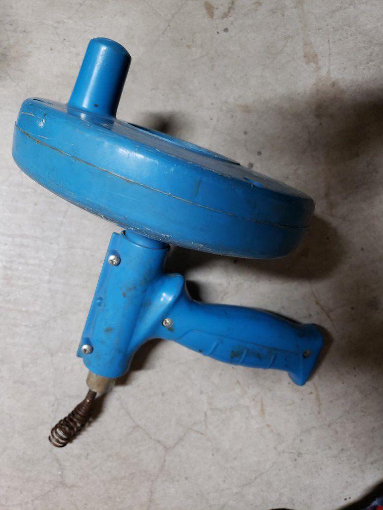 Misc tools and 1 hazardous cone
