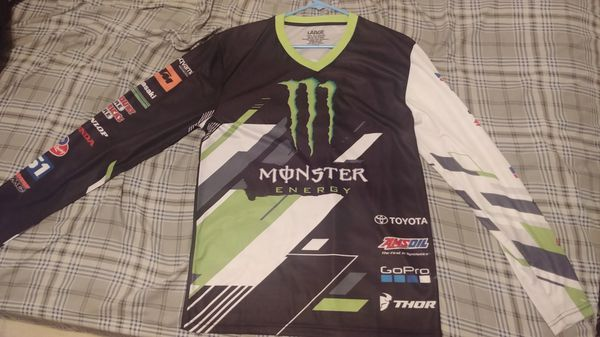Monster energy supercross jersey for Sale in Aberdeen a3d6709cd