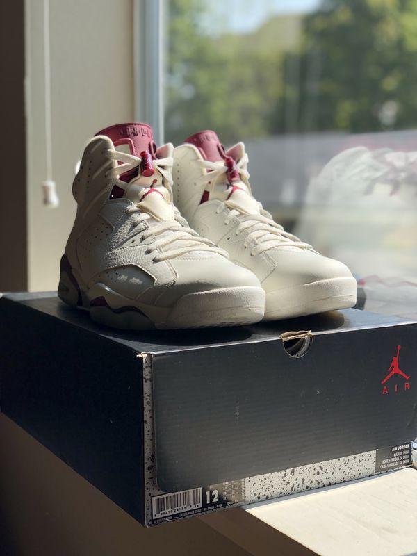 "separation shoes 3a1b4 e970a Air Jordan 6 Retro ""Maroon"" (2015) Size 12 VNDS"