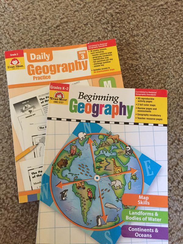 Evan-Moor Daily geography curriculum for Sale in Santee, CA - OfferUp
