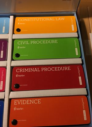 Barbri Law Master Study Keys for Sale in Yorba Linda, CA - OfferUp