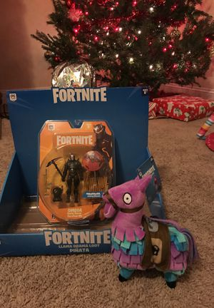 Fortnite Omega Action Figure and Loot LLama Toy for Sale in Brentwood, NC