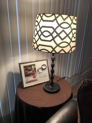 IKEA EKARP Lamp w/ lampshade for Sale in Charlottesville, VA