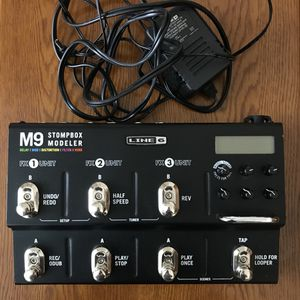 Line 6 M9 Stompbox Modeler for Guitar/Bass for Sale in Bristow, VA