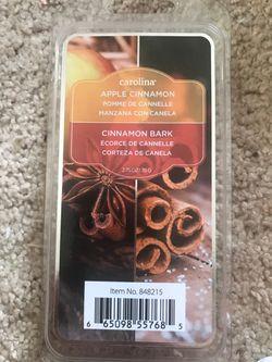 Apple Cinnamon and Cinnamon Bark wax melts NEW Thumbnail