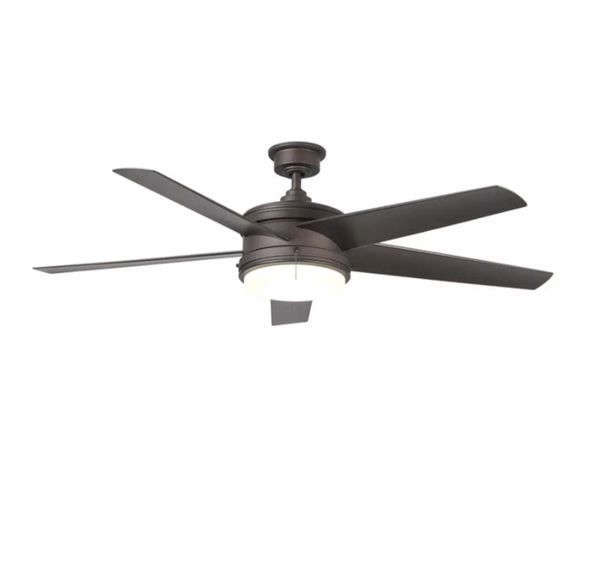 Home decorators collection portwood 60 in led indooroutdoor home decorators collection portwood 60 in led indooroutdoor espresso bronze ceiling fan with light kit new in box household in dallas tx offerup mozeypictures Image collections
