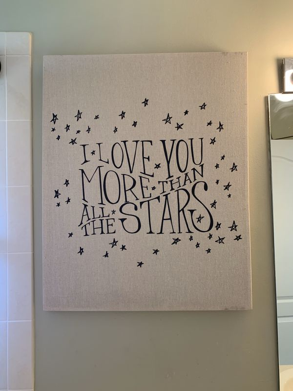 Pottery Barn Picture And Metal Stars For Sale In Palm