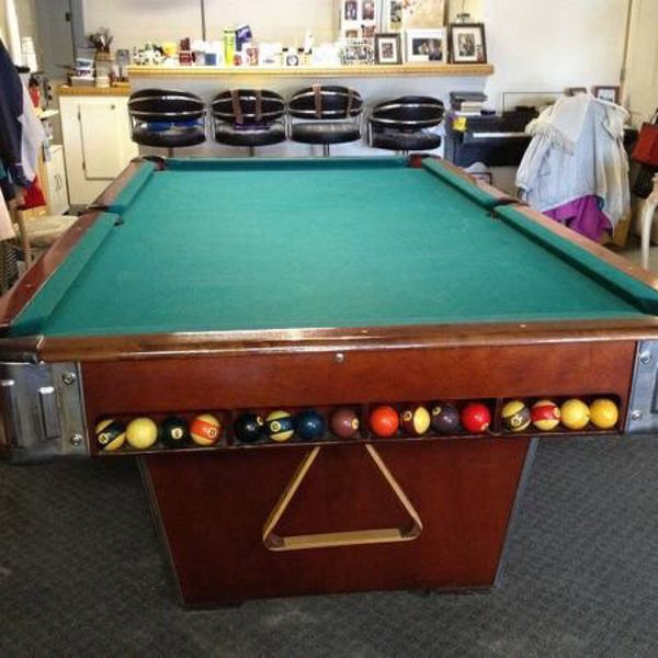 Fantastic Antique 1960S Pro 8 National Billiard Table 1 1 4 Slate For Sale In Salisbury Nc Offerup Home Interior And Landscaping Ponolsignezvosmurscom
