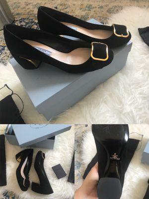 Prada Black shoes Heels size 8 new! for Sale in Vienna, VA
