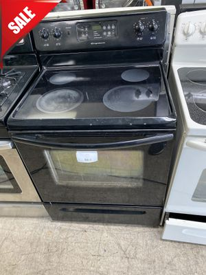 Photo 🌟🌟Black Electric Stove Oven Frigidaire Stainless Steel #957🌟🌟