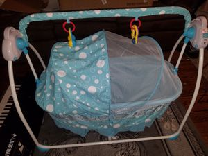 Photo Never Used Brand New Baby rocker/bed/bassinet
