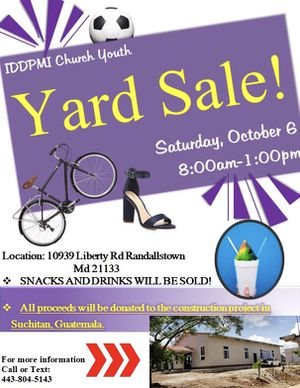 Yardsale!!!! Snowballs will be sold!! for Sale in Sykesville, MD