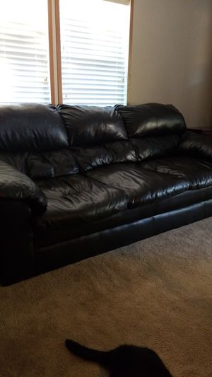 Dark Brown sofa,have to come get it for Sale in Montgomery, TX