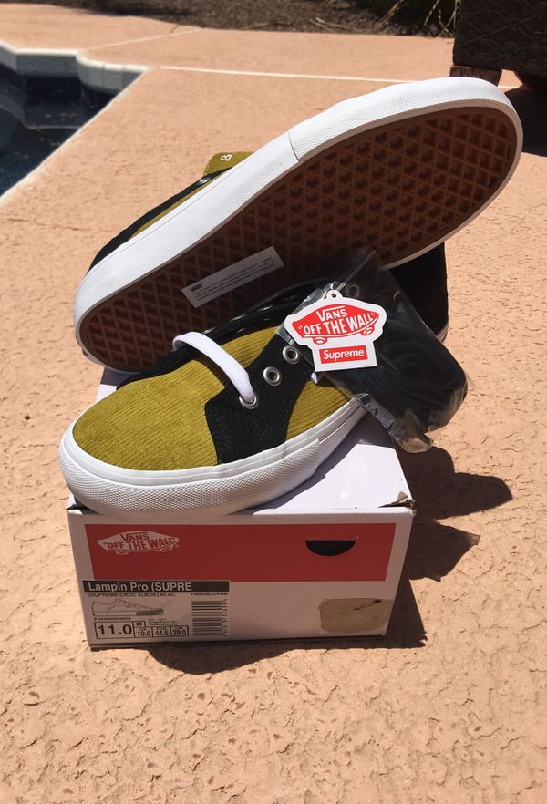 01a974a59272d4 Supreme x Vans Crocodile Corduroy Size 11 for Sale in Scottsdale ...