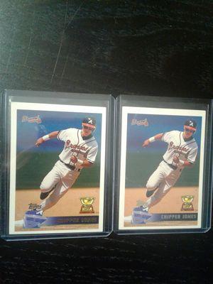 Chipper Jones Baseball Cards for Sale in Orlando, FL