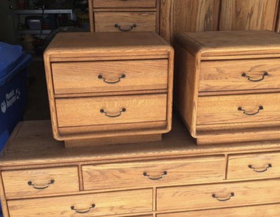 Dresser And Nightstands