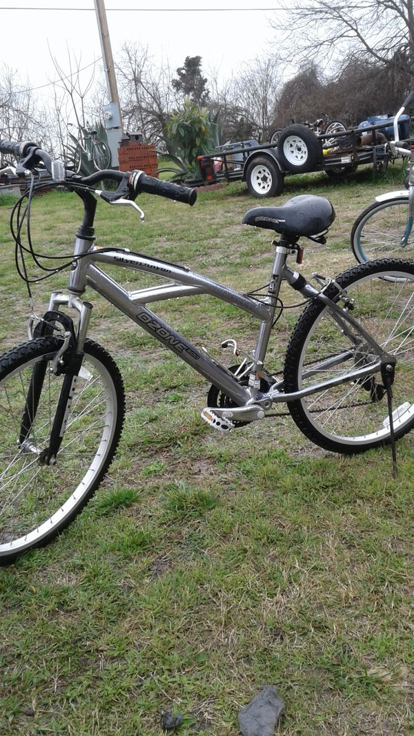 bike OZONE 500 silver canyon for Sale in Austin, TX - OfferUp