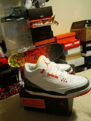 Jordan 3 sole fly exclusive sz12 samples for Sale in Washington, DC