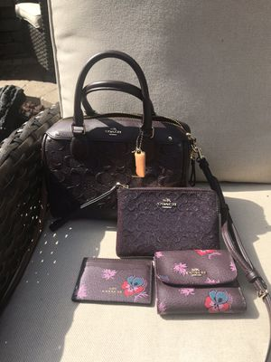 Coach Purse and Accessories for Sale in Galena, OH