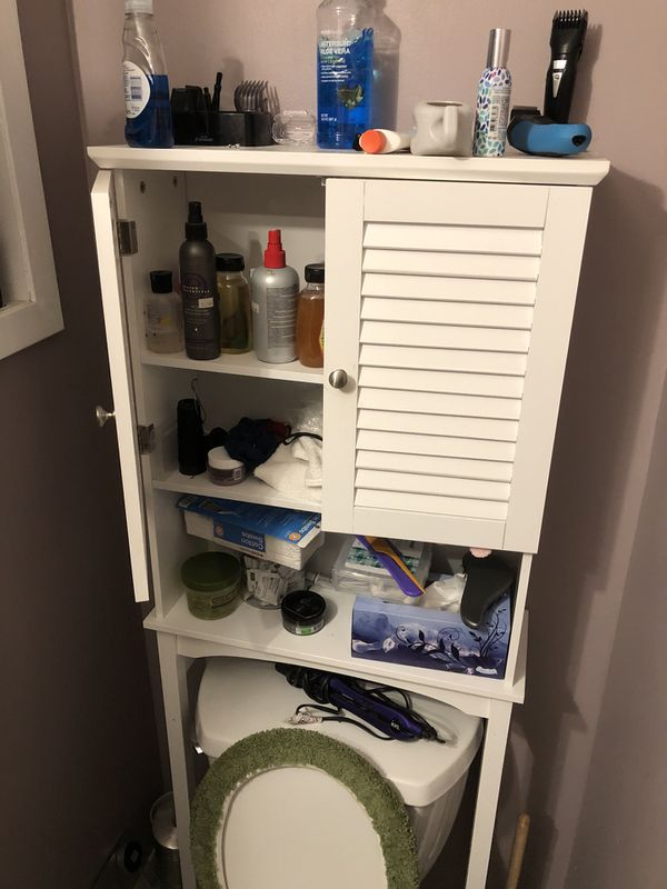 Bathroom storage shelf (Furniture) in Queens, NY - OfferUp