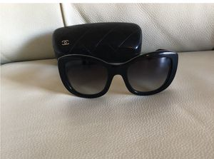 Authentic Black Chanel Sunglasses- pre-owned for Sale in Fort Hunt, VA