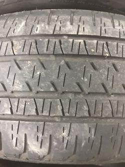 Used tires 255-55-20 Bridgestone dueler full set Thumbnail