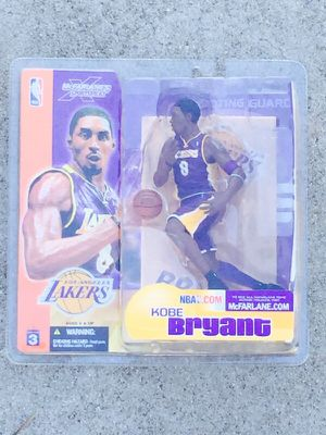 97f60f16072 Features McFarlane Toys NBA Sports Picks Series 3 Action Figure Kobe Bryant  (Los Angeles Lakers