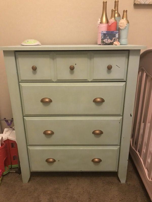 dresser and nightstand (furniture) in chandler, az - offerup Nightstand Dresser