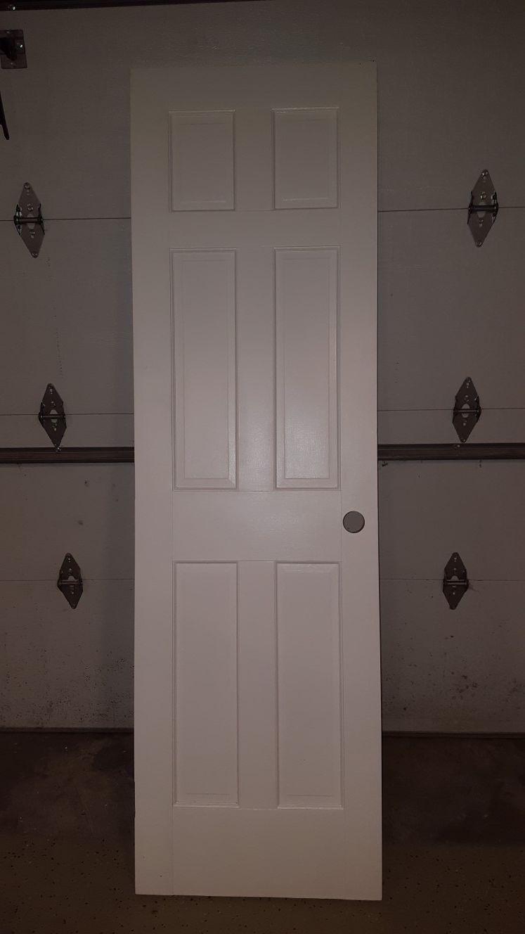 Solid wood maple door