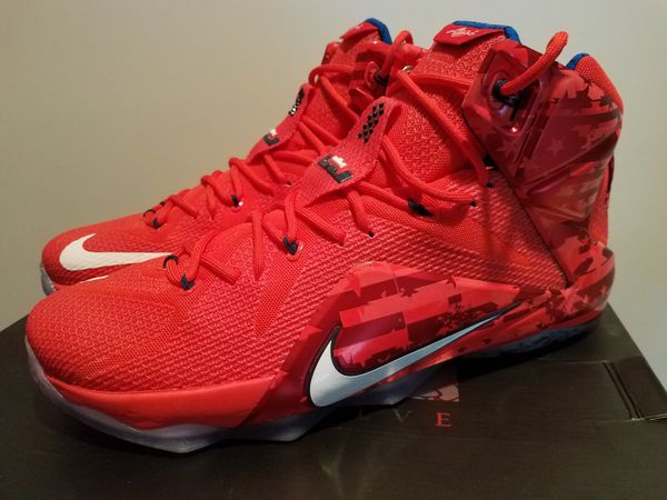 new product cf0d6 c0603 Lebron 12 usa sz 13 for Sale in Clinton, MD - OfferUp