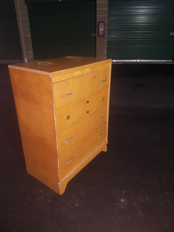 Solid Wood Dresser 4 With Drawers For Sale In Kent Wa