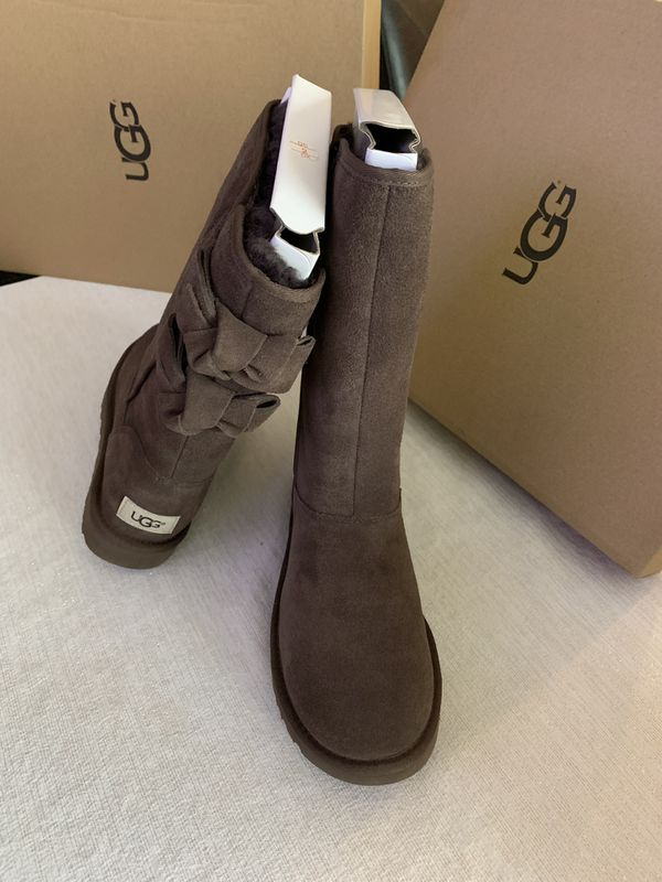 8f212c928b3 UGG ALLEGRA BOW II W / CHO - color CHOCOLATE SIZE 6 WOMAN for Sale ...