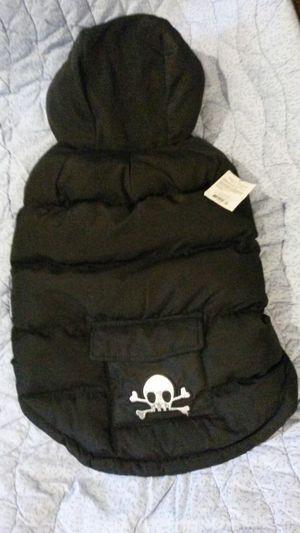 Black medium dog coat for Sale in Midlothian, VA