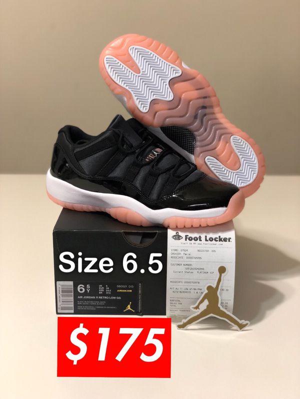279fd716ccdcd6 Nike Air Jordan 11 Retro Low GG Bleached Coral SIZE 6.5 Youth-Men 8 Women