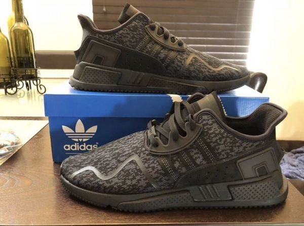 huge discount c65e1 9d8aa Mens ADIDAS EQT Cushion ADV Triple Black BY9507 Core Black l Size 12 Shoes  New w Box