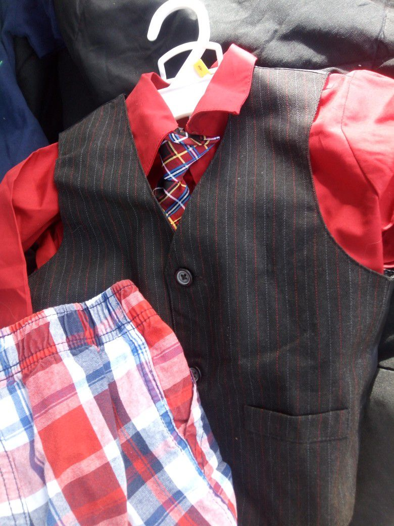 Little Boys Clothes New Never Worn