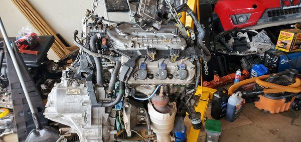 2007 honda oddesey engine