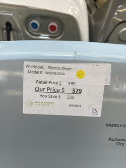 Whirlpool Electric Dryer  Thumbnail