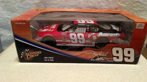 Winner's Circle NASCAR #99 Michael Waltrip 1/18 scale diecast car for Sale  in Orangevale, CA - OfferUp
