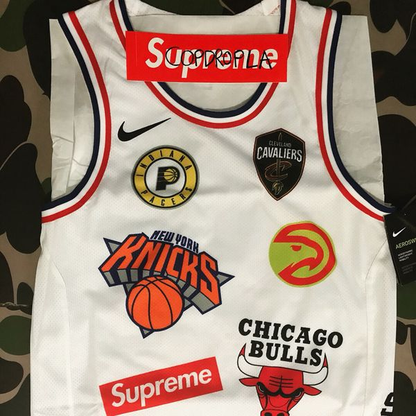 huge selection of 95a4a 65d7d SUPREME X NBA NIKE WHITE MEDIUM JERSEY for Sale in Los Angeles, CA - OfferUp