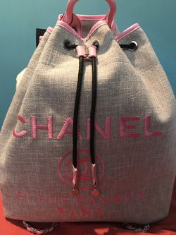 Chanel Backpack book bag tote Thumbnail