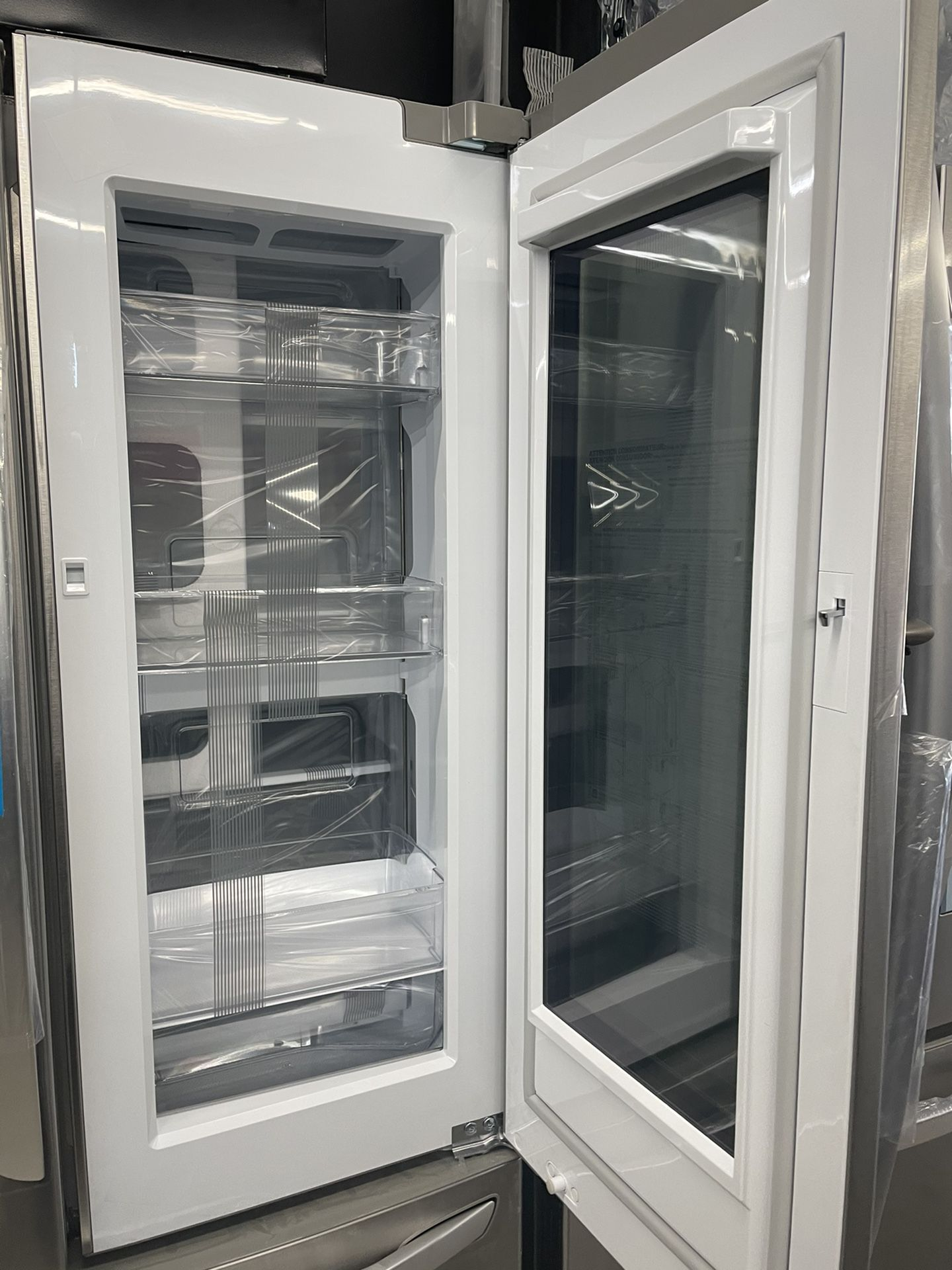 LG COUNTER DEPTH FRENCH DOOR STAINLESS STEEL REFRIGERATOR