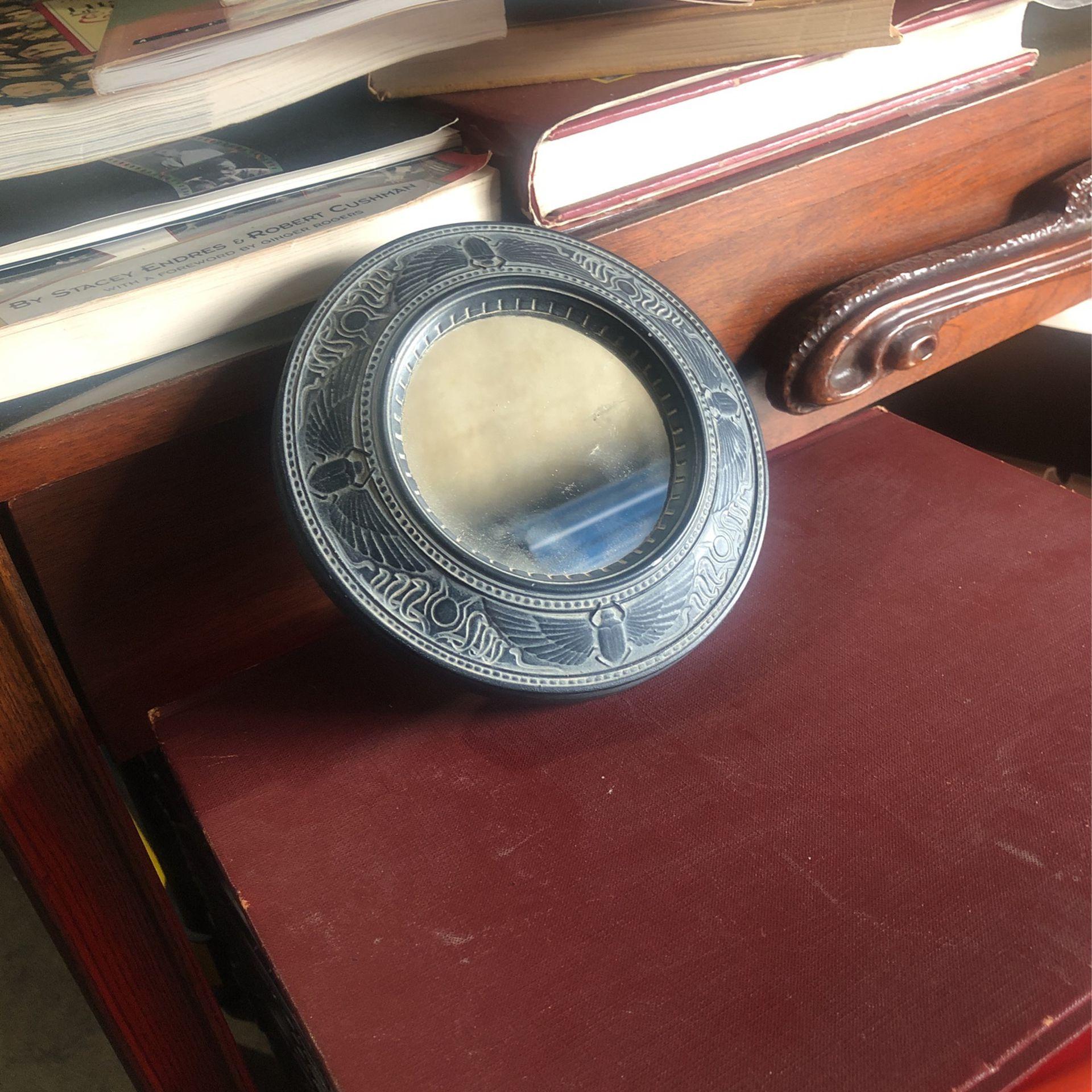 Vintage Egyptian Collection Mirror