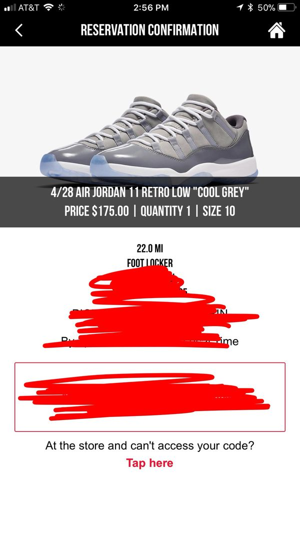 3ec6f2351a4b3c Air Jordan 11 Low Cool Grey Footlocker - gaurani.almightywind.info