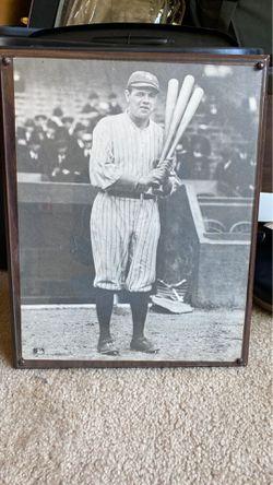 Babe Ruth plaque Thumbnail